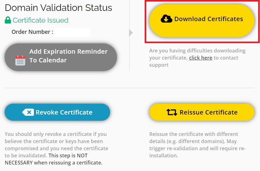 Download Sectigo SSL Certificate